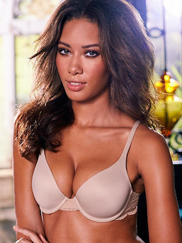 Essential Contoured Cup Bra - Smooth, seamless contoured cups conform to your shape and create the perfect everyday bra to wear with everything! Features include: