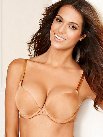 Hollywood Heart Throb Full Figure Bra - Our best-selling push-up bra is now available in extended sizes and a beautiful range of shades. Its incredible, star-worthy details include: 