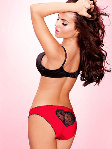 Lace Heart Panty Plus