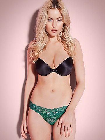 Bridget Lace Bikini - The Bridget lace panty you love in a sexy bikini silhouette! Its must-have features include: