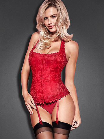 Hollywood Dream Full-Figure Halter Corset