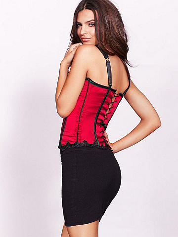 Point D'Esprit Corset