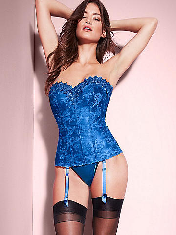 Hollywood Dream Sweetheart Corset - Our best-selling, most-exclusive corset reimagined in a stunning sweetheart silhouette. It features all the details you love combined with the new, cleavage-enhancing neckline: