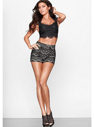 Highwaist Lace Short
