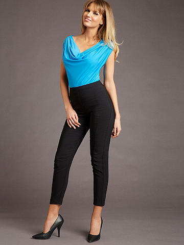 Everyday Sexy Pant - From day to date, from the office to cocktail hour--this is your go-to skinny pant that works with everything in your wardrobe. In a flirty ankle style to pair with your favorite heels. Features include: