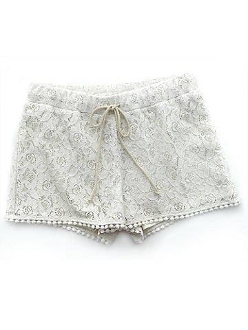 Crochet Lace Short - Frill up your summer wardrobe with these lovely crochet lace shorts, a must-have for the summer. Features include: 