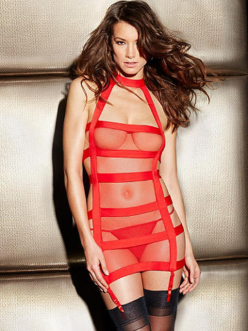 Sexy Strappy Chemise - Everything about this sexy chemise is meant to enhance, empower and entice. Its incredible features include: 