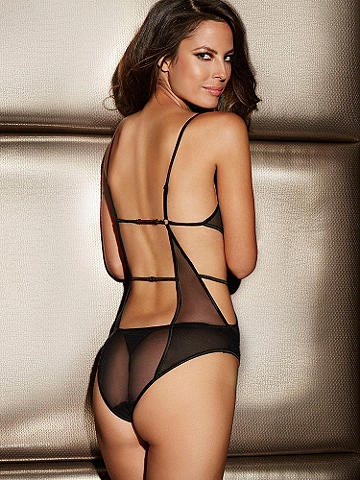 Geometric Mesh Teddy - This tempting teddy is cut out in all the right places to add a teasing touch to any occasion. Details include: