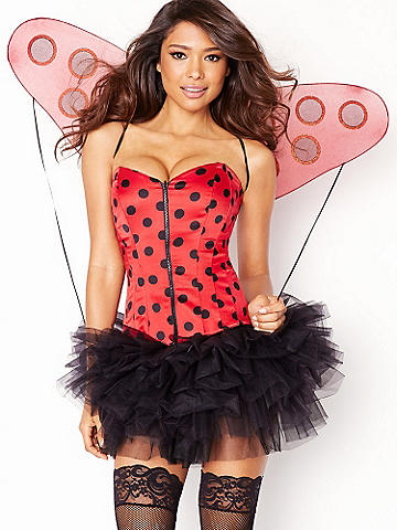 Ladybug Wings - A ladybug mustn't forget her wings. This flirty set includes:
