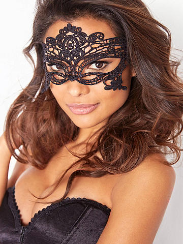 Carnival of Venice Lace Mask - You're a mystery. And now it shows. Slip on our stunning Carnival of Venice lace mask. Features: