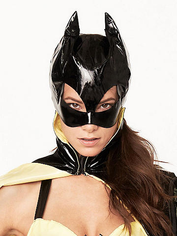 Sexy Batwoman Mask - The must-have finishing piece to our Sexy Batwoman Costume. Polyester/spandex. Imported.
