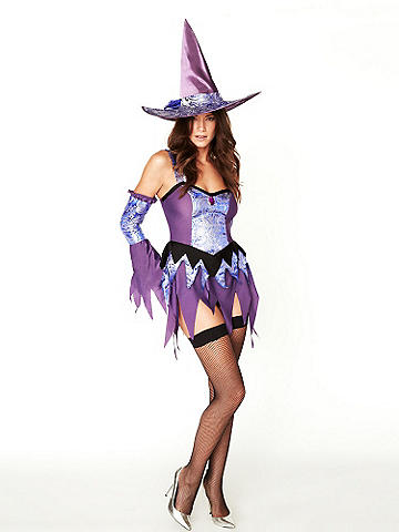 Sexy Witch Costume - A standout costume for a wickedly sexy Halloween. Features include: 