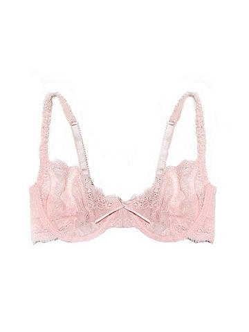 Ingrid Sheer Lace Bra