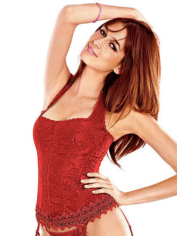 The Hollywood Dream Halter Corset